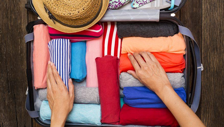 صاف ماندن البسه در چمدان